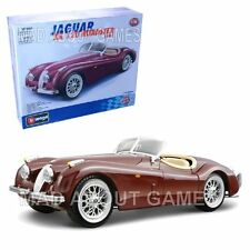JAGUAR XK 120 ROADSTER 1:24 scale model car KIT diecast Bburago die cast models