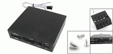 "New Multi Internal 3.5"" Card Reader + 1 USB Port For PC Tower SD CF MS XD"