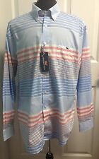 NWT Vineyard Vines Men's Size XL Long Sleeve Button Down Slim Fit Tucker Shirt