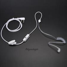2Pin Acoustic Tube PTT MIC Earpiece Earphone for Kenwood TH-G71 Baofeng Retevis