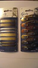 WOW - Goody Classics ~ 12 Pack of Snap Clips & 8 Pack of Barrettes!!