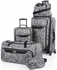 TAG SPRINGFIELD III 5 PIECE LUGGAGE SET PRINT LIGHTWEIGHT SPINNER SUITCASE