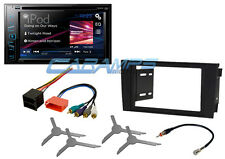 "NEW 6.2"" PIONEER TOUCHSCREEN CAR STEREO RADIO DVD/CD W/ INSTALL KIT FOR 00-03 A6"