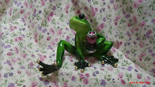 NEW GANZ FROG WINE SITTING UP FIGURE