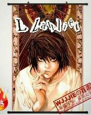 Home Decor Japanese Anime Wall poster Scroll DEATH NOTE L Anime Cosplay