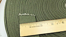 """5 yards of 1.5"""" wide Military Grade Army Green Strapping Webbing Binding"""