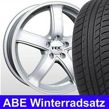 """16"""" ABE Winterräder ASA AS1 CS Winterreifen 205/55 für VW Golf V 1K"""