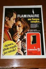 AU5=1972=FLAMINAIRE ACCENDINO LIGHTER=PUBBLICITA'=ADVERTISING=WERBUNG=