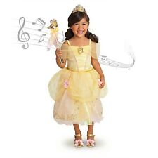 Disney Store PRINCESS BELLE Costume Dress Musical Cameo Large 9 10 Beauty Beast