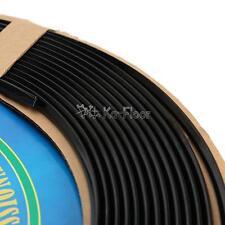 Flexible Universal Car Door Edge Guard Moulding Trim Black PVC 1280cm 40ft