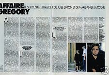 Coupure de Presse Clipping 1989 (2 pages) Affaire Gregory Villemin