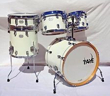 Showroom Display Taye Drums StudioBirch 5 Piece Shell Pack In Galaxy Ice Finish