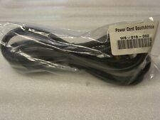 POWER CORD,    WS-016-002,  SOUTH AFRICA,  WS-002  to WS-016,  NEW