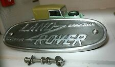 Land Rover Series 1 2 Cast Aluminium Grill/Grille Tub Badge Replica Birmingham