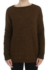 NWT $550 DOLCE & GABBANA Green Knitted Pullover Sweater Top s. IT40 / US6 / S