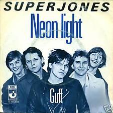 "SUPERJONES - NEON LIGHT / GUFF 7"" SINGLE (S769)"