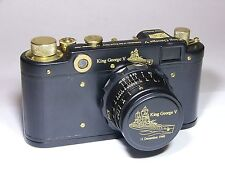 "Art Camera.""HMS King George V"" Anniversary Camera.(by Fed/Zorki LEICA Replica)"