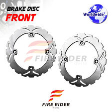 FRW 2x Front Brake Disc Rotor For HONDA XL-V 650 TRANSALP 00-07 01 02 03 04 05