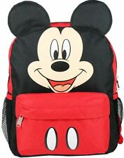 "Disney Mickey Mouse Ears Face Square 12"" inches backpack - NEW - Licensed"
