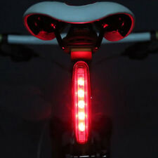 1 piece Cycling Bike Bright 5 LED Rear TailLight 8 modes Bicycle Lamp Red