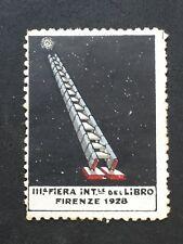 ERINNOFILO FIERA DEL LIBRO 1928