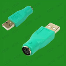 PS/2 Female To USB Male Mouse PS2 Adaptor, PC, Laptop, Windows, Linux, Adapter