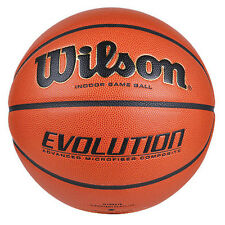 Wilson Evolution Basketball Size7 (29.5'') NFHS Approved Indoor Games Play Balls