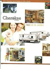 CHEROKEE Travel Trailers & Fifth Wheels 2005 SALES BROCHURE Forest River NM