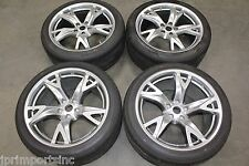 NISSAN OEM 370Z 19X9 19X10 WHEELS-TIRES-TPMS NEW CAR TAKEOUT 245/40R19 275/35R19