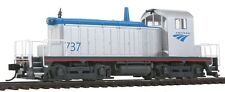 HO Amtrak Phase V EMD SW-1 Locomotive #737 DCC Ready - Walthers #910-9215
