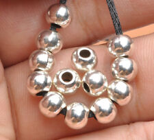 40pcs Tibetan Silver Charms loose spacer beads fit Jewelry Findings 5.5mm
