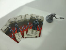 Zombicide Black Plague. necromancer Grin + cards (Kickstarter exclusive) KSE.