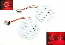 2x 1156 Red LED Rear Turn Signal Light Blinker HD Road King For Harley-Davidson