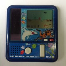80's Casio Marine Hunter Electronic Game CG-50 Solar Powered