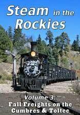 Steam in the Rockies V3 Fall Freights on the Cumbres & Toltec DVD NEW