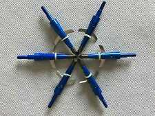 "6Pcs Blue Swhacker Broadheads 100Grain 1.75""Cut for Compound Bow"
