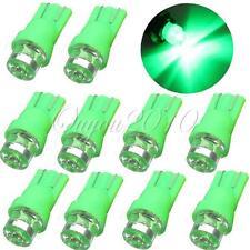 10X Luz T10 W5W LED Trasera Coche Moto De Bombilla Salpicadero Indicadores Verde