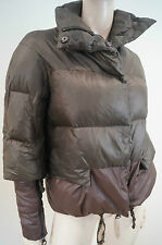 ERMANNO By ERMANNO SCERVlNO Brown Down Feather Padded Puffa Winter Jacket 26/40