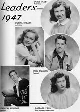 1947 Chicago Parker High School Yearbook~Photos~History~Wrestling~Candids~Ads~++