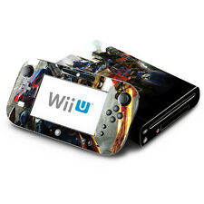Skin Decal Cover for Nintendo Wii U Console & GamePad - Transformers Autobot