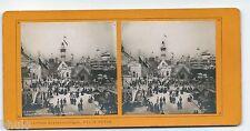 STC485 Expo Paris 1900 Pavillon Navigation Comm. stereoview photo STEREO vintage