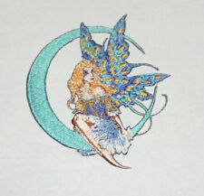 Amy Brown Moon Jewel Fairy Embroidered iron-on Patch 3 1/2""