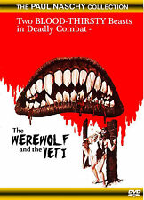 THE WEREWOLF AND THE YETI (Paul Naschy/Eng subtitled) DVD