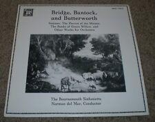 Bridge, Bantock, And Butterworth Summer Norman del Mar~MHS 7203T~NM Vinyl
