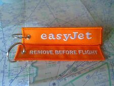 Easyjet remove before flight keyring keychain lowcost England UK