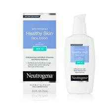 3 Pack - Neutrogena Healthy Skin Face Lotion SPF 15, 2.5 Ounce Each