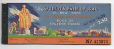 1940 Book of Tickets to the New York World's Fair