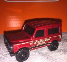 Matchbox LAND ROVER 90 Ninety Maroon/Black New Loose Matchbox 1:64 Die Cast
