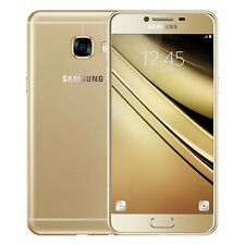"DOW 01 : Samsung Galaxy C5 Duos (Gold, 32GB) 4GB 5.2"" 4G LTE Imported"