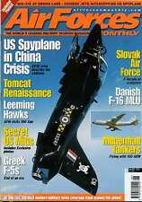 Air Forces Monthly 2001 June Danish F-16,Leeming Hawk,Hellenic F-5,F-14,Slovakia